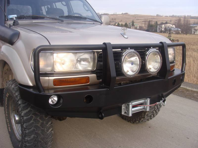 Rye 4x4 Winchbumper High Profile