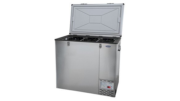 125L Fridge Freezer 12/24/220 Volt