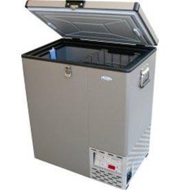 National Luna 65L Aluminum Fridge/Freezer