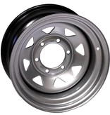 15x8 6x139,7 ET-25 Silver