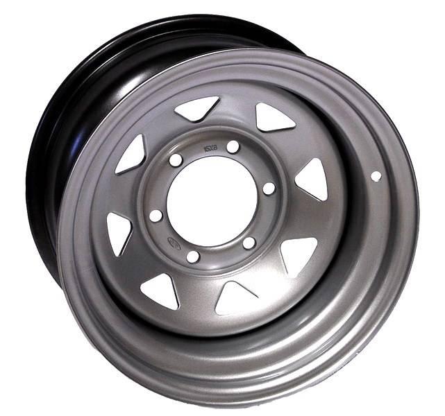 16x8 6x139,7 ET-25 Silver