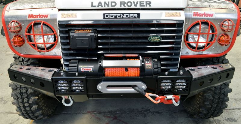 Raptor 4x4 Front Squared Winch Bumper ST Style