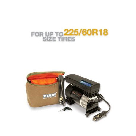 VIAIR 77P Portable Compressor Kit Sport Compact Series with Illuminated Pressure Display, 12V, 80 PSI