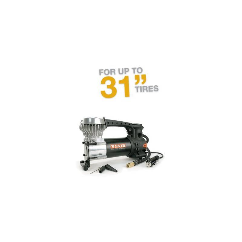 """VIAIR 85P Portable Compressor Kit Sport Compact Series, 12V, 60 PSI, for Up to 31"""" Tires"""