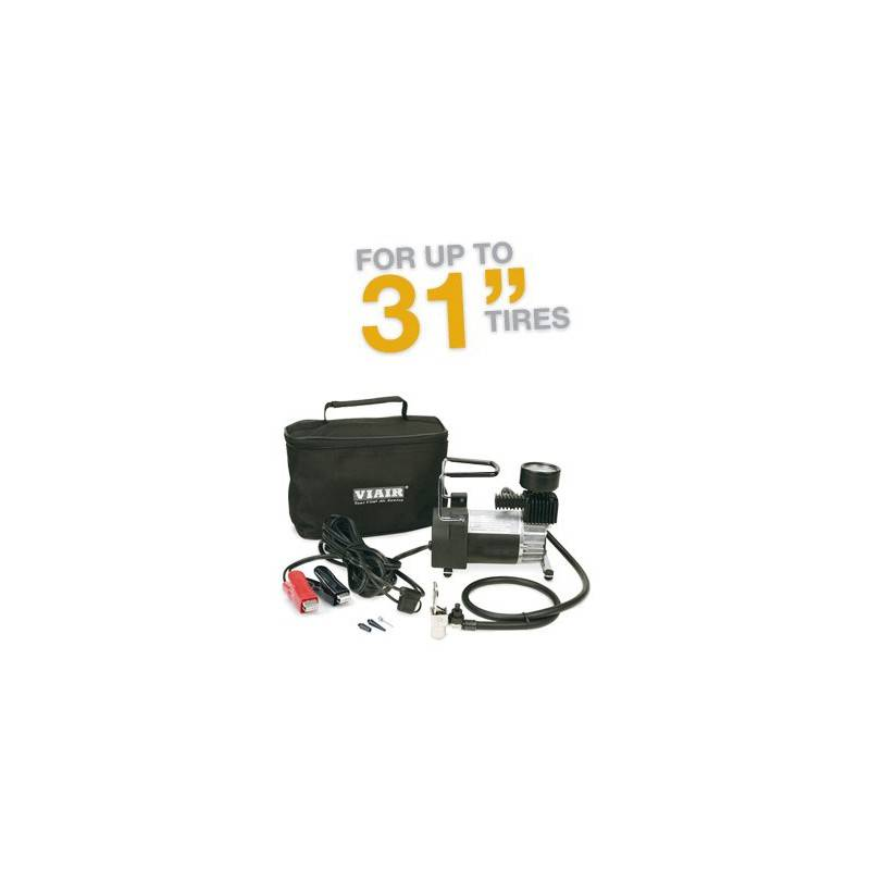 VIAIR 90P Portable Compressor Kit 12V, 15% Duty, 120 PSI, 30 Min. @ 30 PSI