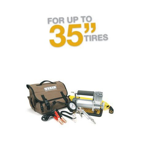 VIAIR 400P-Automatic Portable Compressor Kit 12V, 33% Duty, 40 Min. @ 30 PSI