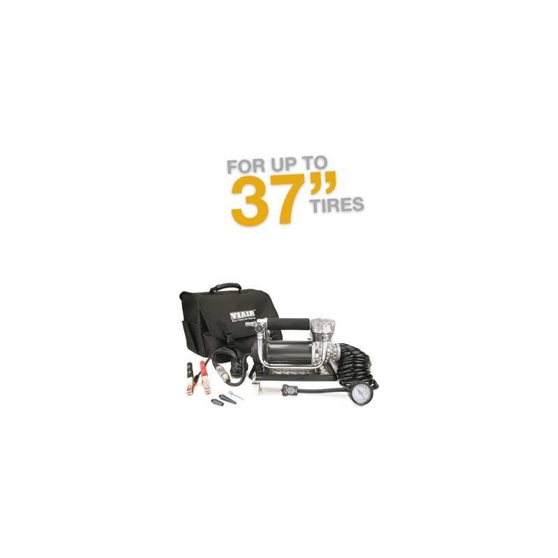 VIAIR 440P Portable Compressor Kit 12V, CE, 33% Duty, 150 PSI, 30 Min. @ 30 PSI