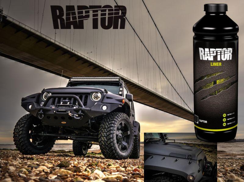 Raptor Liner Raptor 1 Liter Zwart