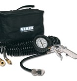 VIAIR Inflation Kit Mechanical Gauge Tire Gun, 150 PSI, 30' Hose, Carry Bag