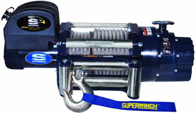 Talon 14.0 12V (Wire Rope & Roller Fairlead)
