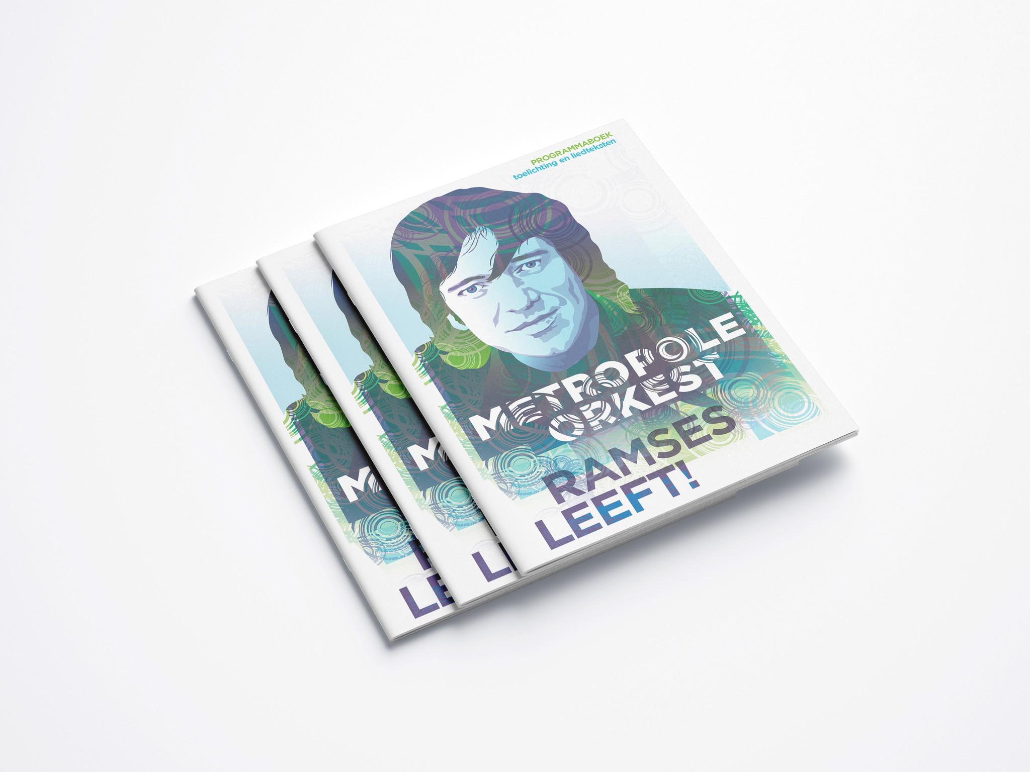 Programmaboekje 'Ramses Leeft!'. Met toelichting en alle liedteksten.