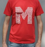 T-shirt Heren Rood