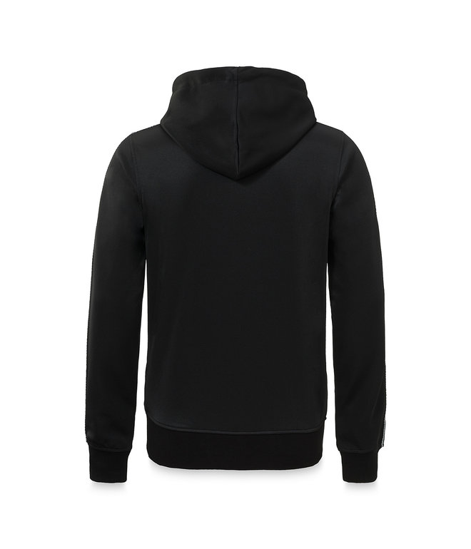 Awakenings hooded zip black/tape