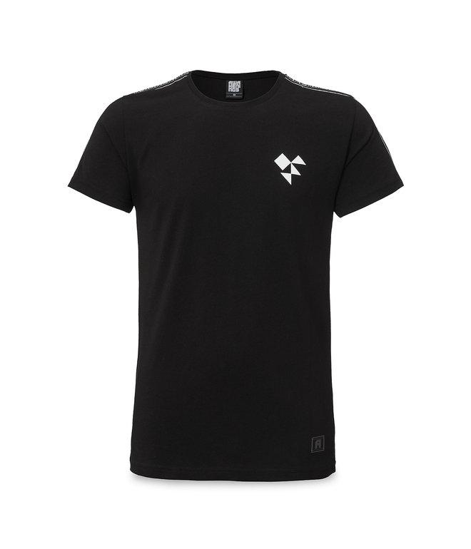 Awakenings t-shirt black/tape