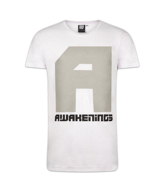 AWAKENINGS T-SHIRT WHITE/GREY