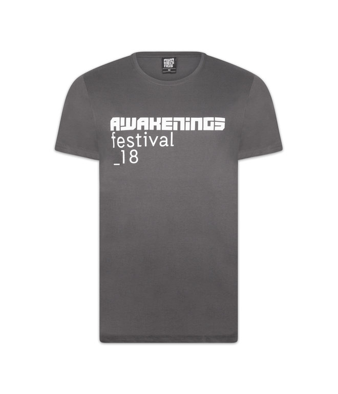 AWAKENINGS T-SHIRT ANTHRACITE