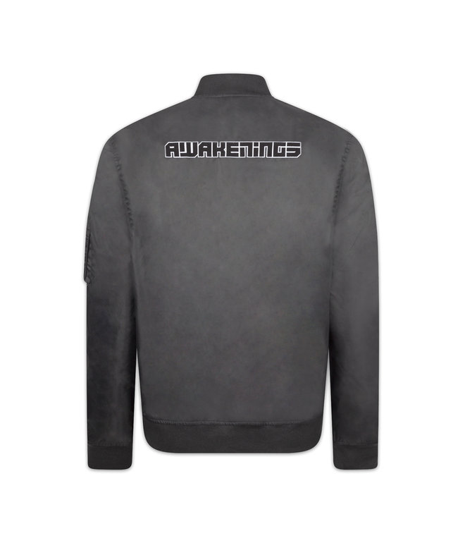 AWAKENINGS BOMBER GREY