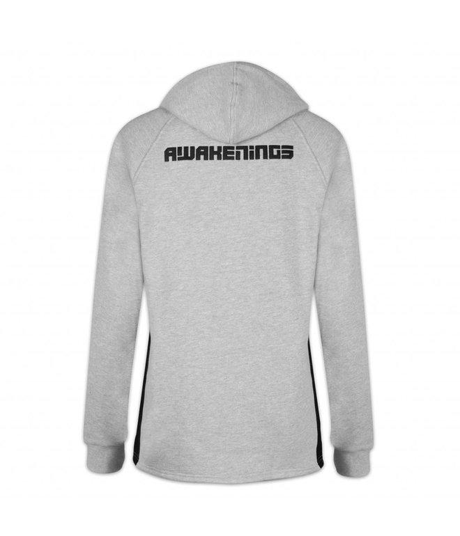 Awakenings Long Hoodie Grey Men