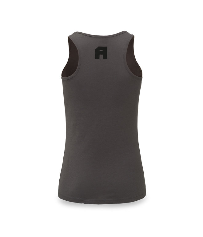 Awakenings tanktop anthracite/black