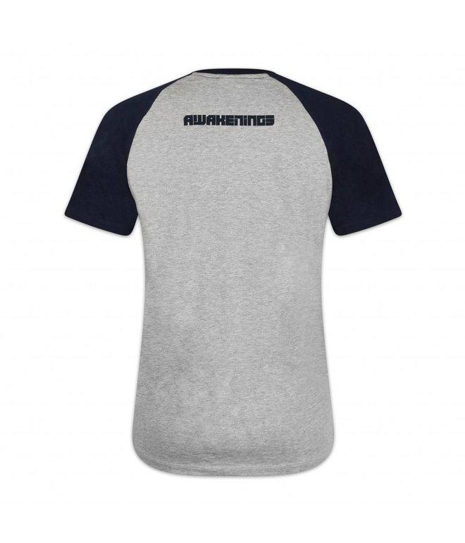 Awakenings Raglan T-shirt Heather Grey Women