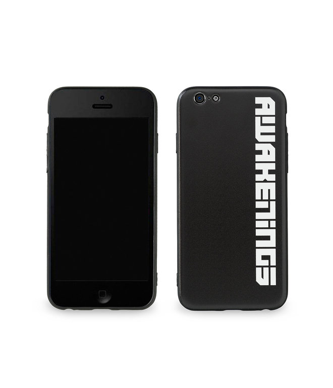 Awakenings phone case black/white