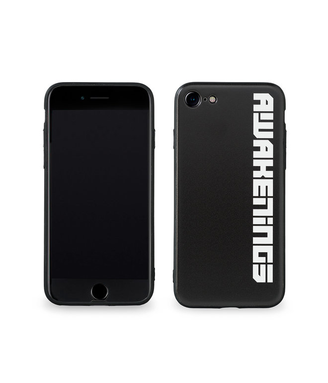 Awakenings phone case black/white