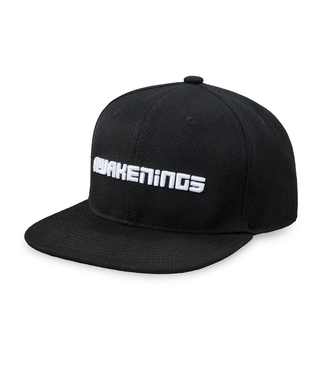Awakenings snapback black/white