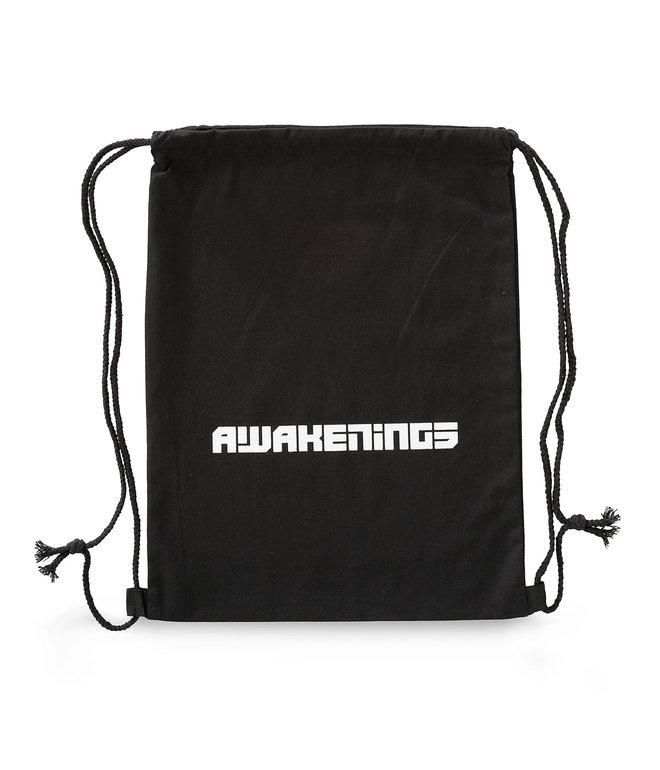 Awakenings stringbag black/white