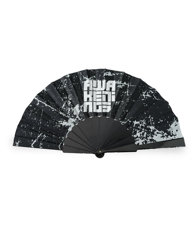 AWAKENINGS HANDFAN BLACK/WHITE