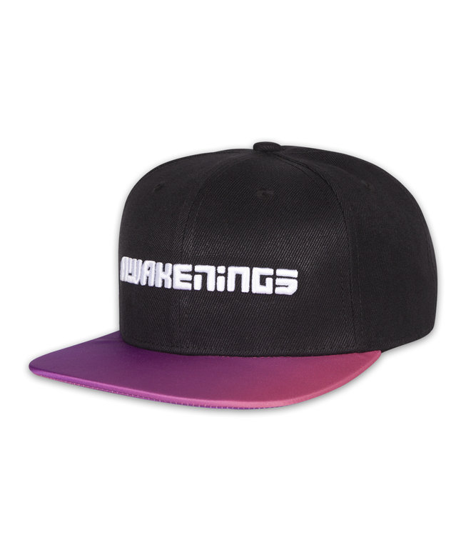 AWAKENINGS SNAPBACK GRADIENT BLACK