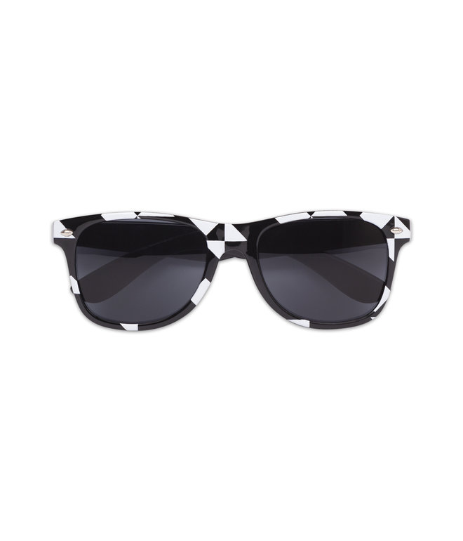 AWAKENINGS SUNGLASSES BLACK/WHITE