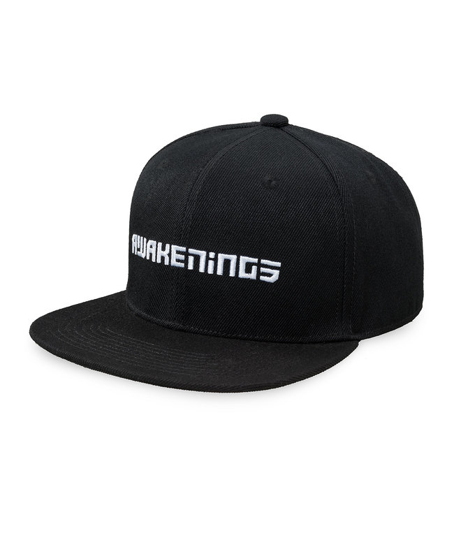 Awakenings snapback black/white
