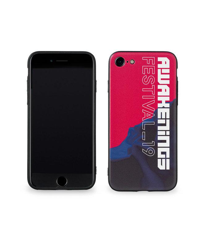 Awakenings phone case red/blue