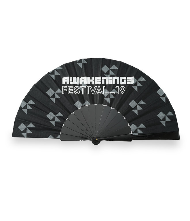 Awakenings handfan black/pattern