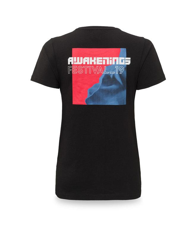 Awakenings t-shirt black/red