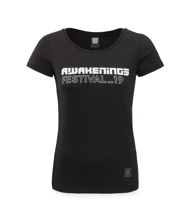 Awakenings line-up t-shirt black