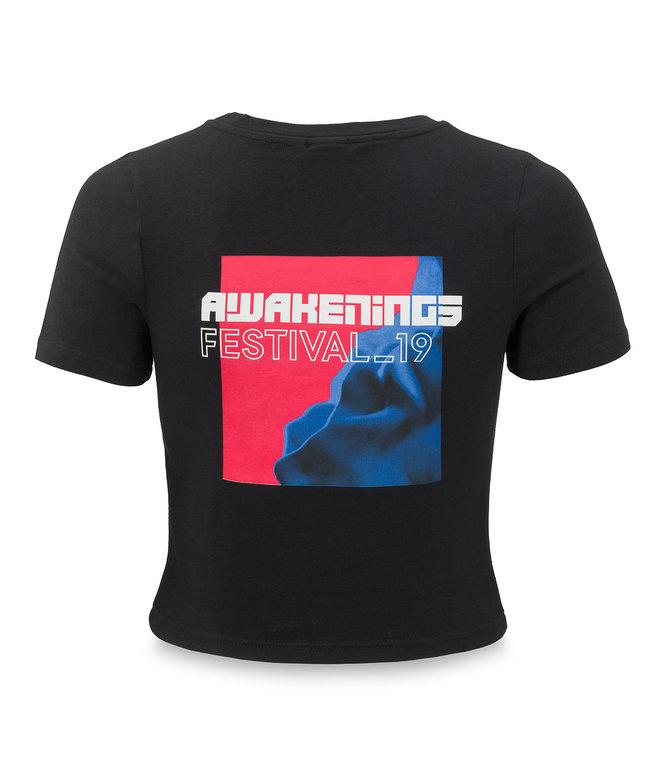 Awakenings short tee black/red