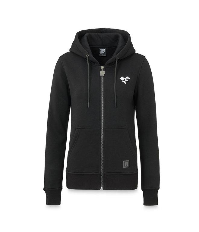 Awakenings hooded zip black