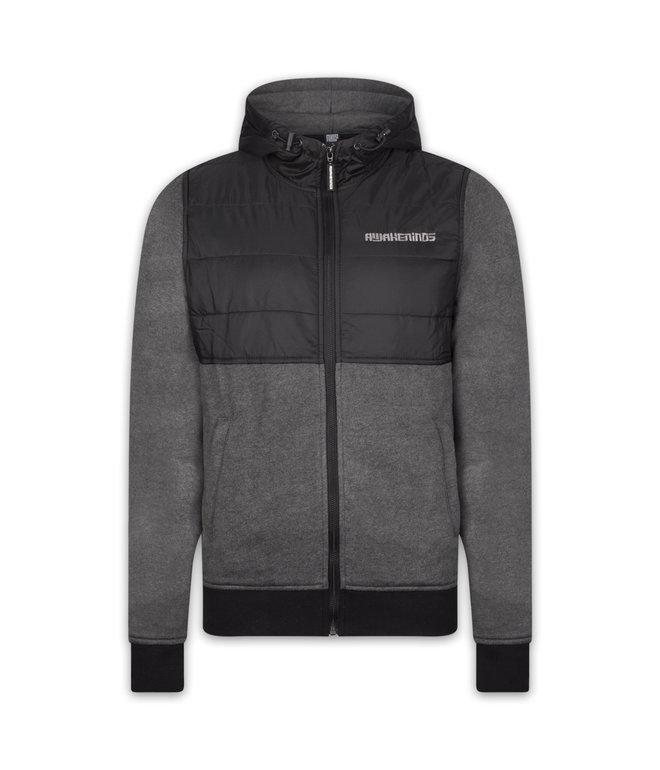 Awakenings padded jacket black/grey