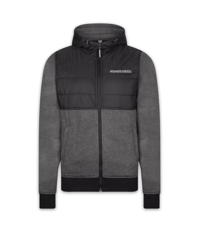 Awakenings padded jacket black/grey