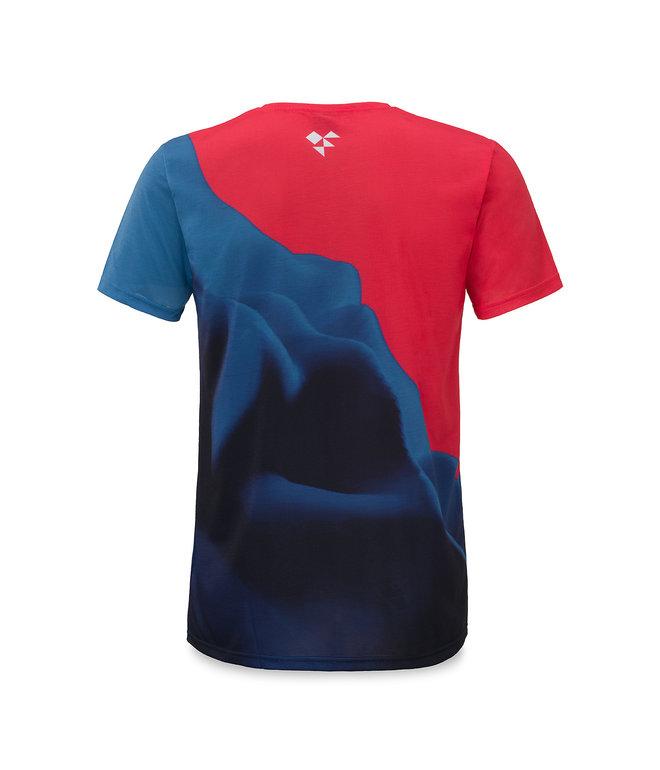 Awakenings t-shirt blue/red
