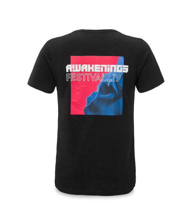 Awakenings t-shirt black/red