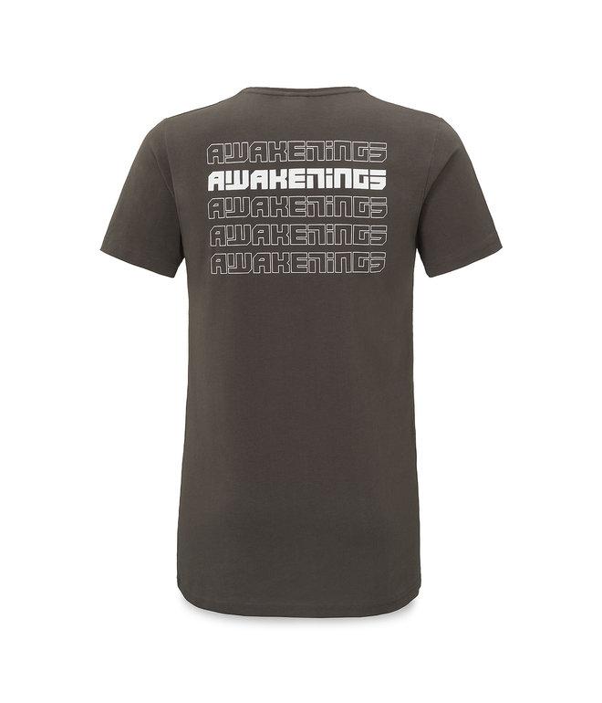 Awakenings long t-shirt anthracite