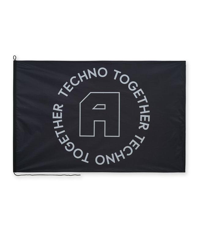 Awakenings flag black/white
