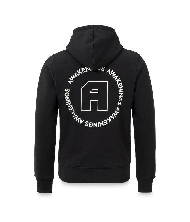 Awakenings hoodie black/white