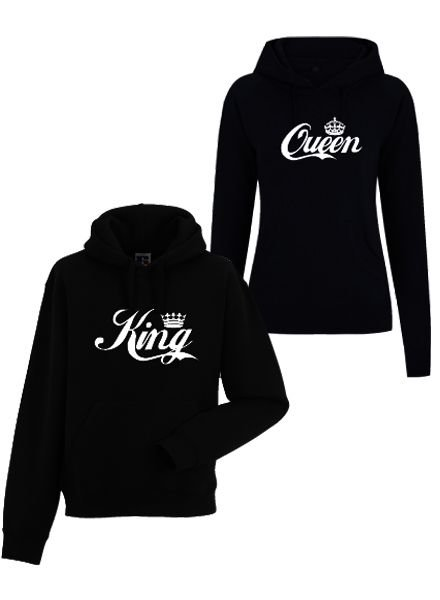 DOPE ON COTTON KING & QUEEN COUPLE SWEATERS HOODY