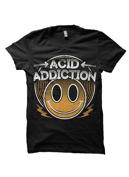 DOPE ON COTTON Merchandise T-shirt - Acid Addiction - Copy