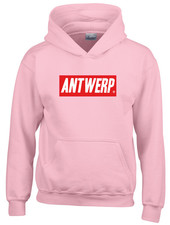 AW ANTWERP Kids Hooded sweater - AW red box