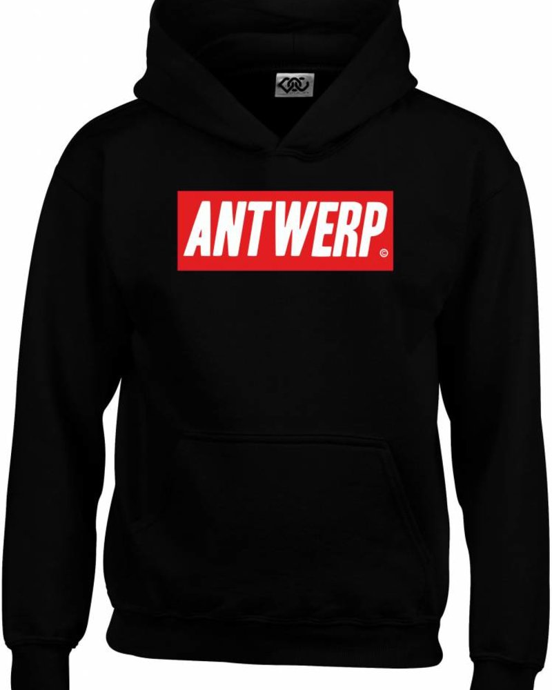 AW ANTWERP Hooded sweater - AW red box