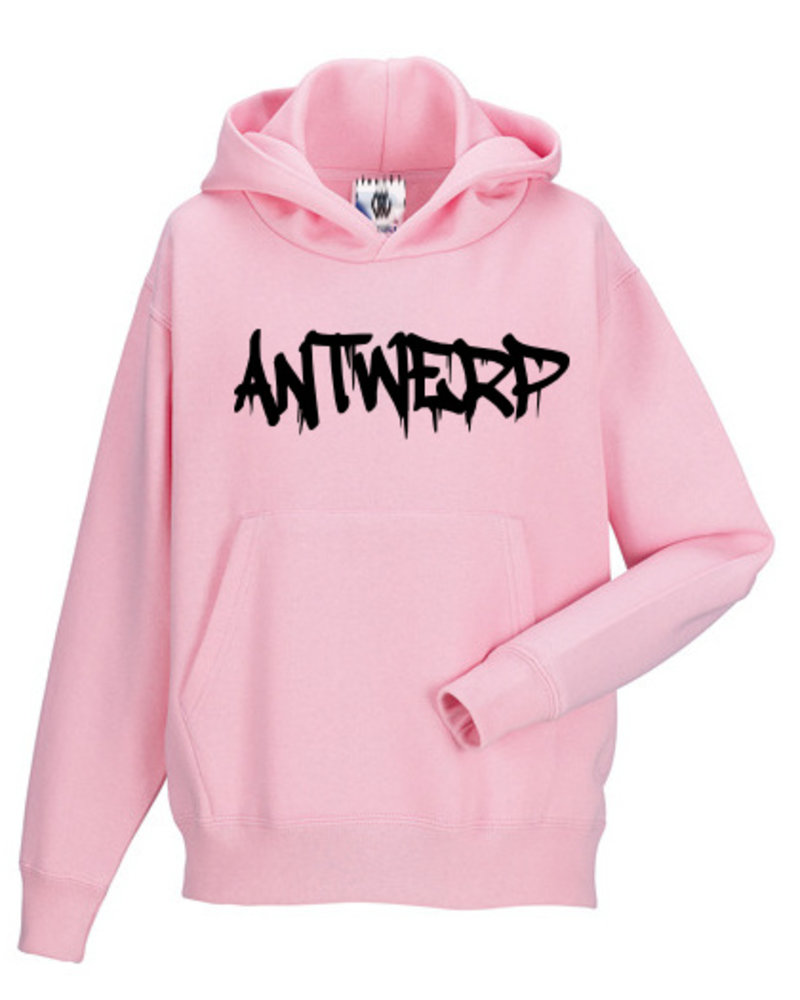 AW ANTWERP Kids Hooded sweater - AW graffiti